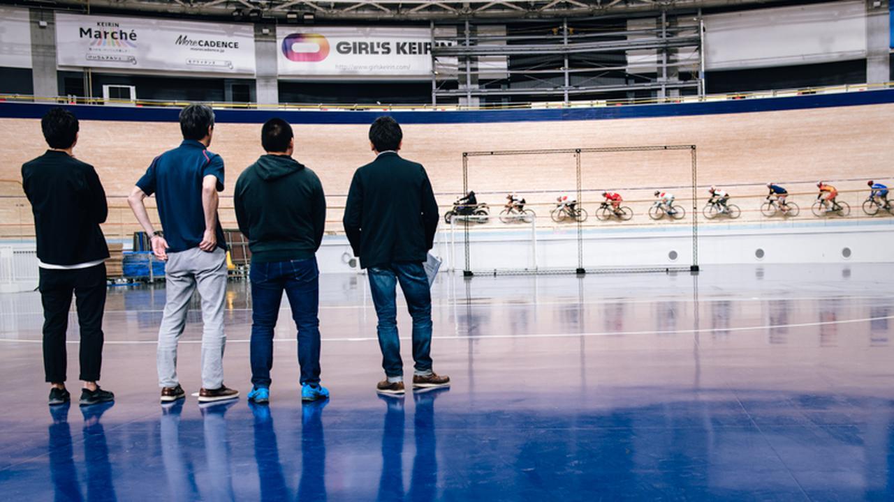 画像: 選手たちの練習場所、伊豆ベロドローム(静岡県伊豆市)には何度も足を運んできた