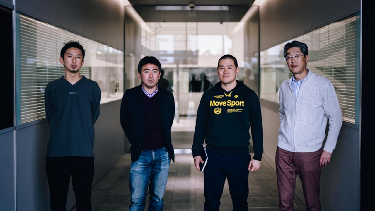 画像: 左から齋藤孝太さん、井上大平さん、神谷将志さん、田中悌二さん