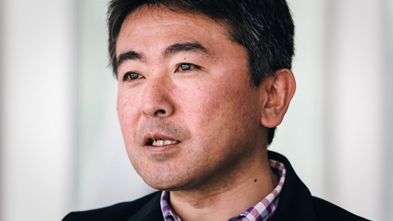画像: 井上大平さん。デサントジャパン社スポーツマーケティング2課所属