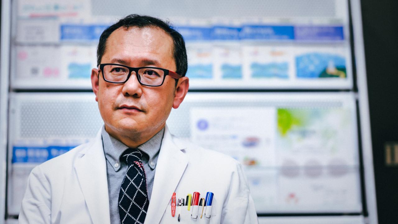 画像: 石川智久さん。東京慈恵会医科大学の准教授でもある