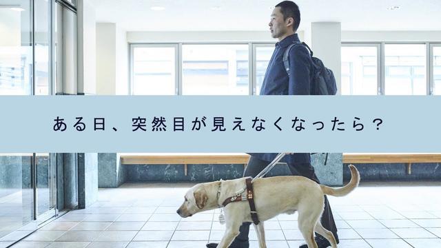 画像: ある日、突然目が見えなくなったら?-公益財団法人アイメイト協会 www.youtube.com