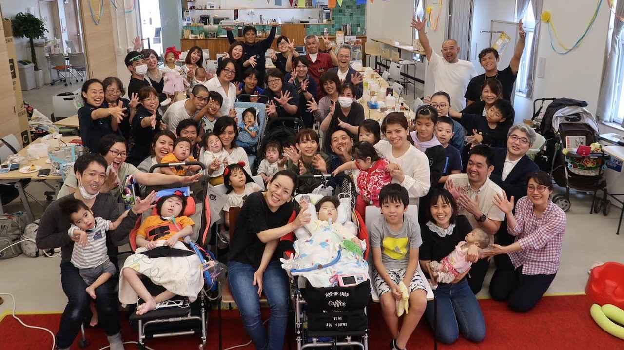 画像: Kukuruのスタッフと利用者家族