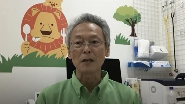画像: 冨名腰義裕さん。医療的ケア児の支援を行う「小児在宅医療基金てぃんさぐの会」の会長でもある