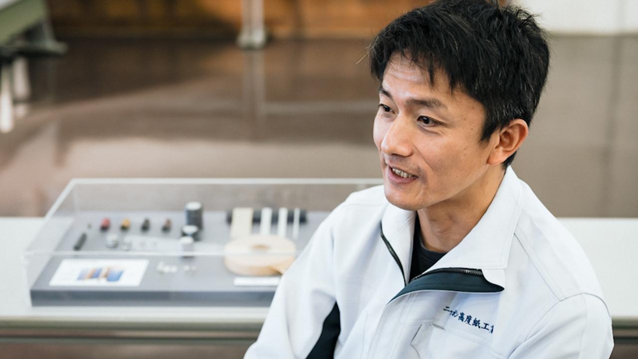 画像: ISO管理室環境管理課係長の吉永真也さん