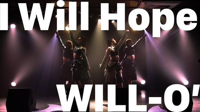 画像: [Live Clip] WILL-O' - I Will Hope(Official Lyric Video) www.youtube.com