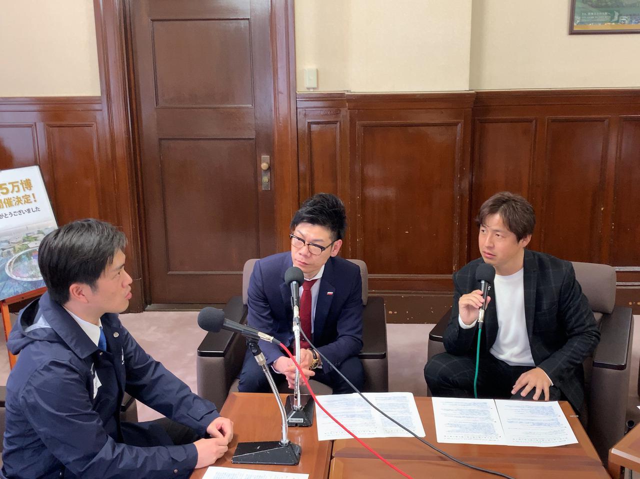 画像: 吉村洋文大阪府知事が語る「ミライ」「大阪万博」「春の応援ソング」。