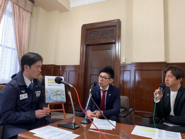 画像1: 今週のミライ・リーダーは大阪府知事・吉村洋文さん。