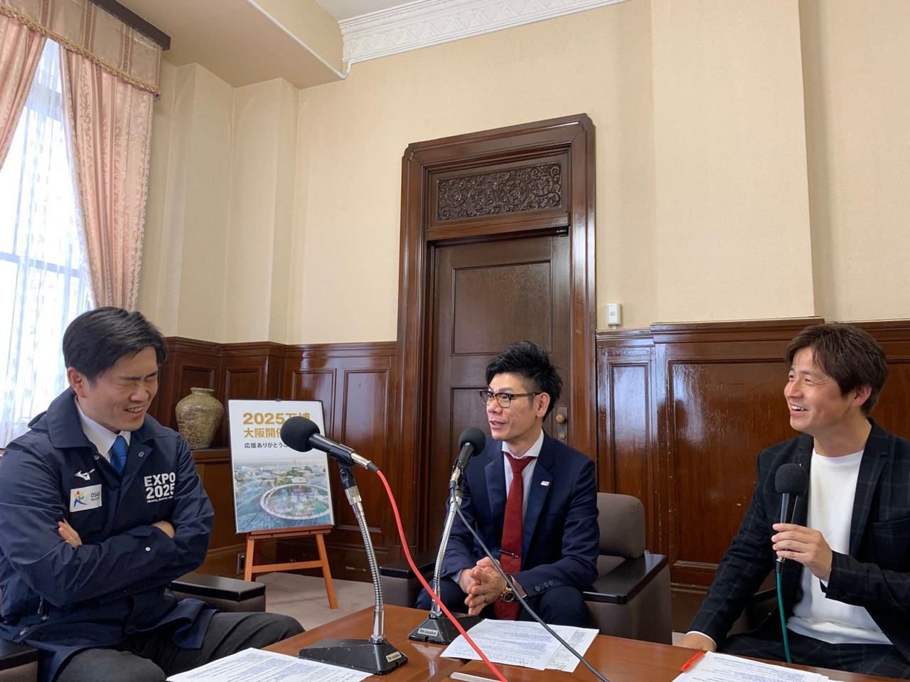 画像2: 今週のミライ・リーダーは大阪府知事・吉村洋文さん。