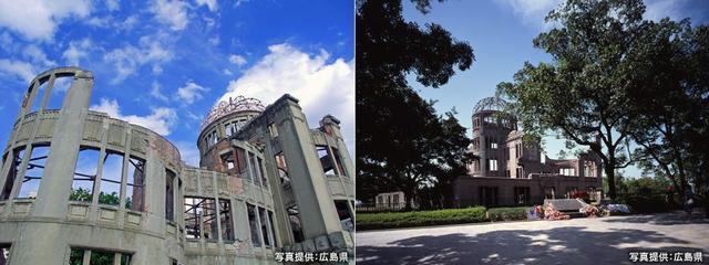 画像: 原爆投下の記憶をつなぐ 平和のシンボル 世界遺産・原爆ドーム