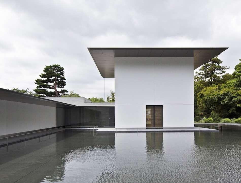 画像: 鈴木大拙館 思索空間と水鏡の庭