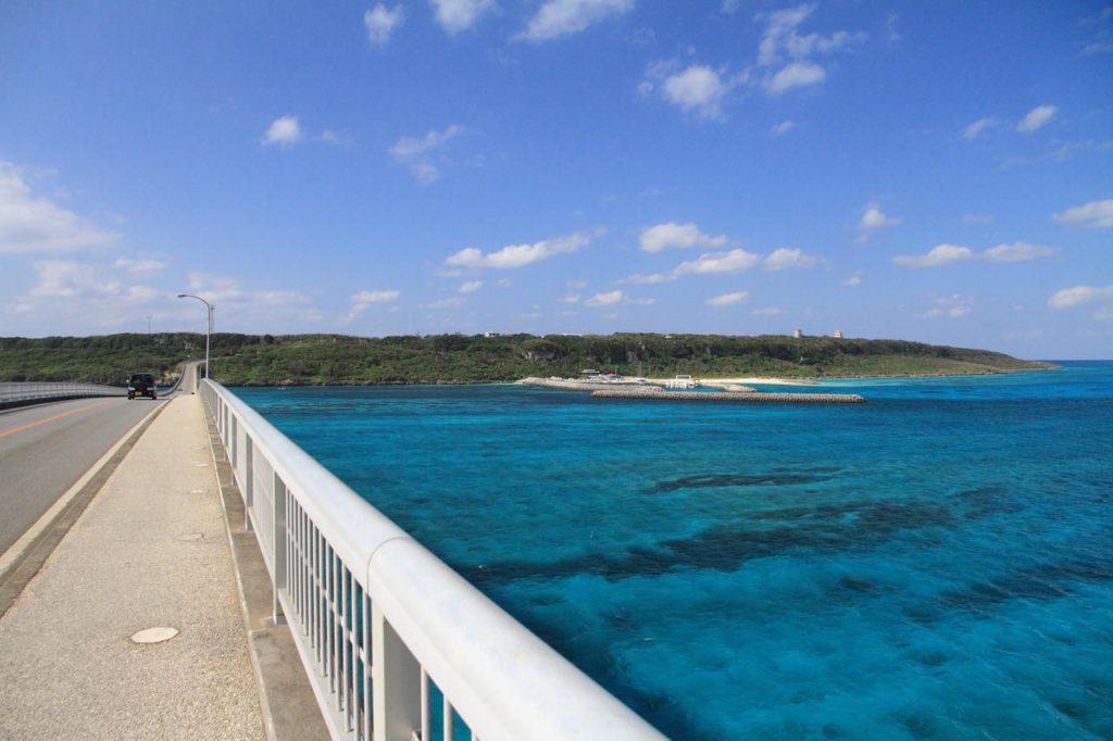 画像: 宮古のダイビングスポットのひとつ、来間島