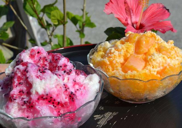 画像: 色鮮やかでトロピカルな魅力満載の、「味咲」のかき氷