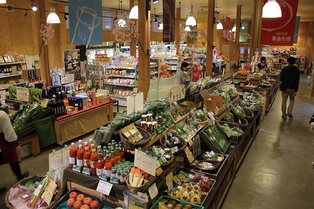 画像: 「産直市場」に並ぶ十勝産の新鮮野菜