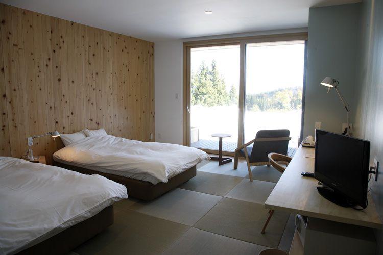 画像: 和を基調とした落ち着いた客室