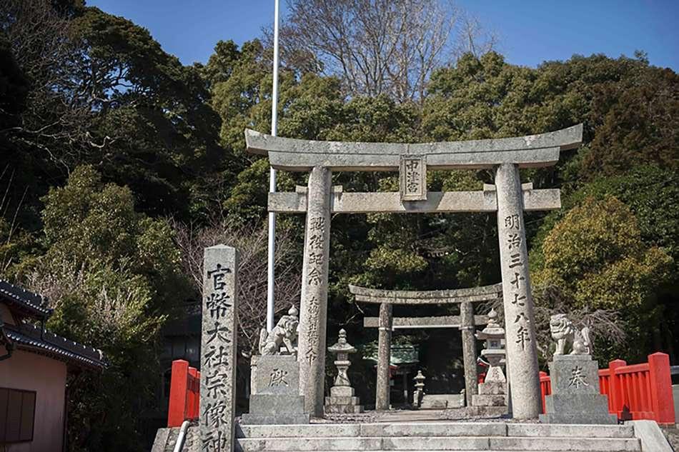 画像: 三女神の次女が祀られる、大島の「中津宮」