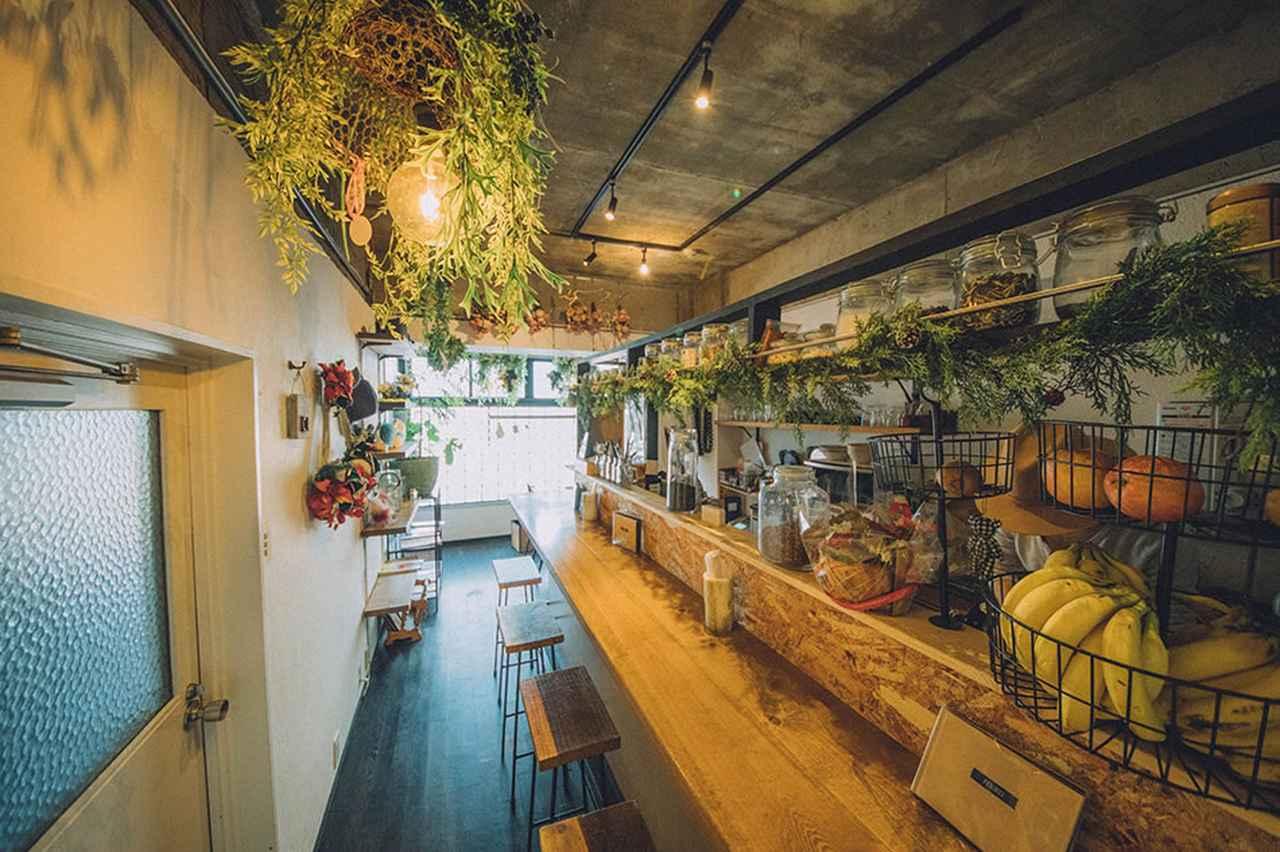 画像2: JTRRD cafe(ジェイティードカフェ): おしゃれなスムージーが大阪で話題。美容にもおすすめのカフェ