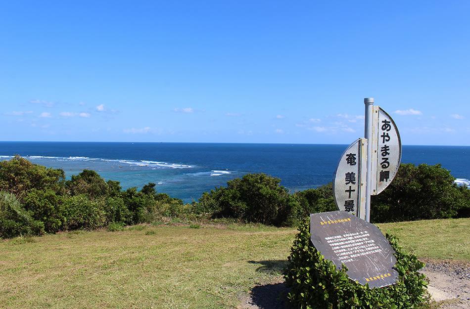 画像: あやまる岬から見下ろす景色