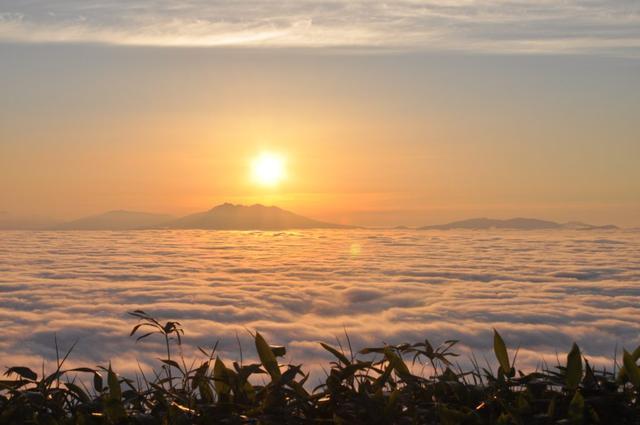 画像: 屈斜路雲海(津別峠展望台から)