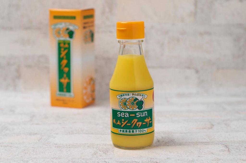 画像: 100%果汁150ml入り1本648円(税込)/販売元:勝山シークヮーサー