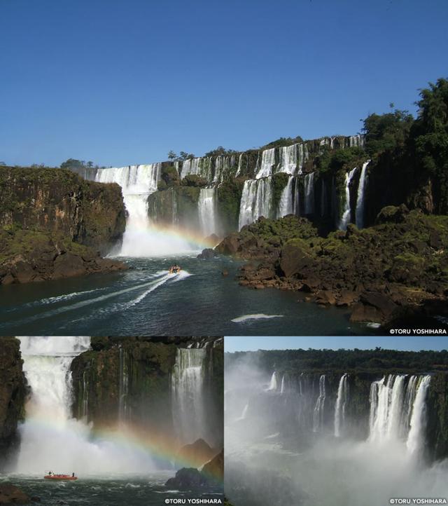 画像: 世界三大瀑布のひとつ「イグアスの滝」。