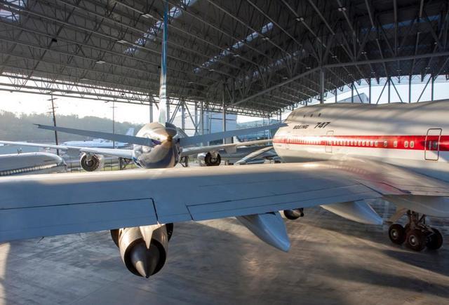 画像: 巨大なジェット機の実物も余裕で展示 ©The Museum of Flight