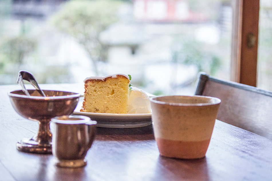 画像: 自家製の広島レモンケーキ