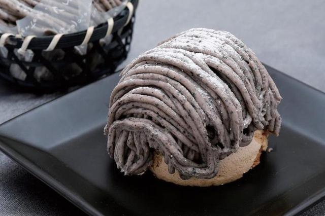 画像: 宮川菓子舗の「黒豆モンブラン」