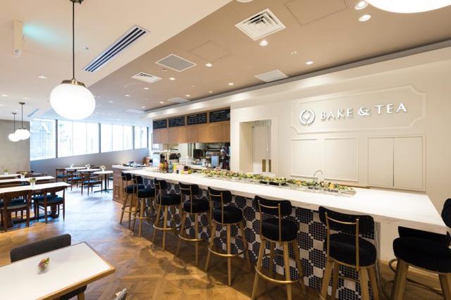 画像1: 【新宿駅】アートなパフェは必食。スイーツブッフェも楽しめる人気店 SALON BAKE & TEA