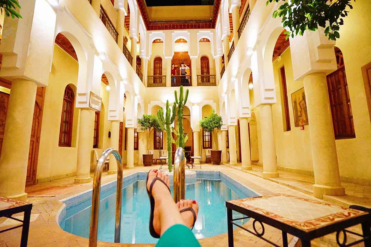 画像: モロッコの五つ星リヤド「アンサナリヤドコレクション」