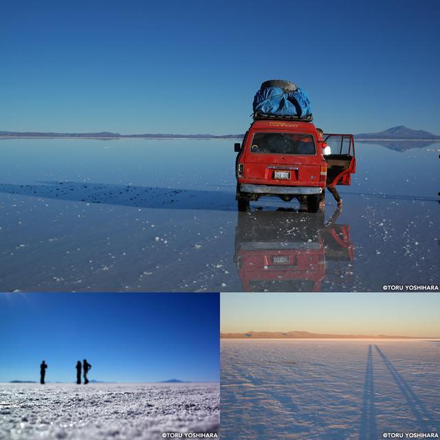 画像: 季節によって表情を変える絶景の宝庫、「ウユニ塩湖」。
