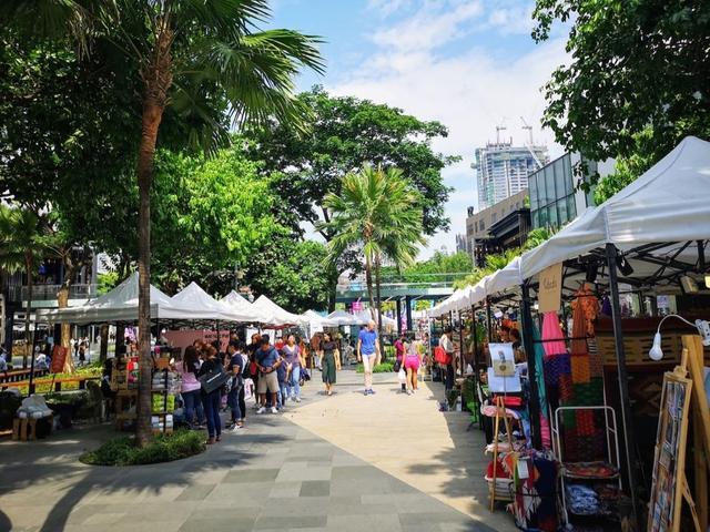 画像: ボニファシオ ハイストリートでもマーケットが不定期に開催されている。この日は『Origin Market』