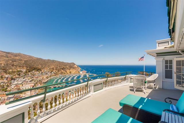 画像: 「The Grand Suite」のバルコニー Photo:Catalina Island Company