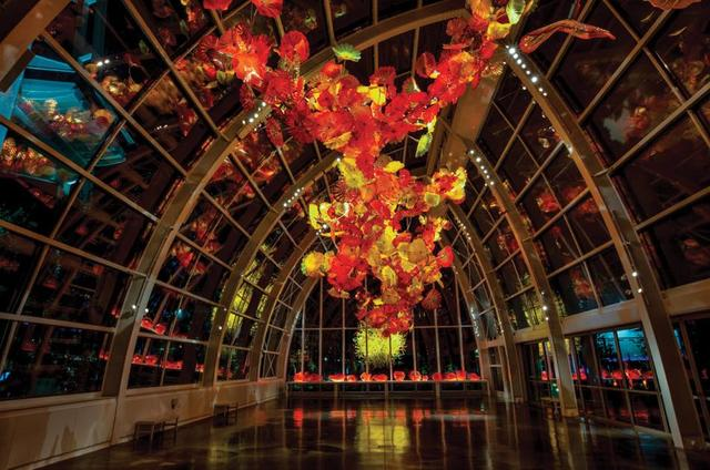 画像: ©Chihuly Garden and Glass
