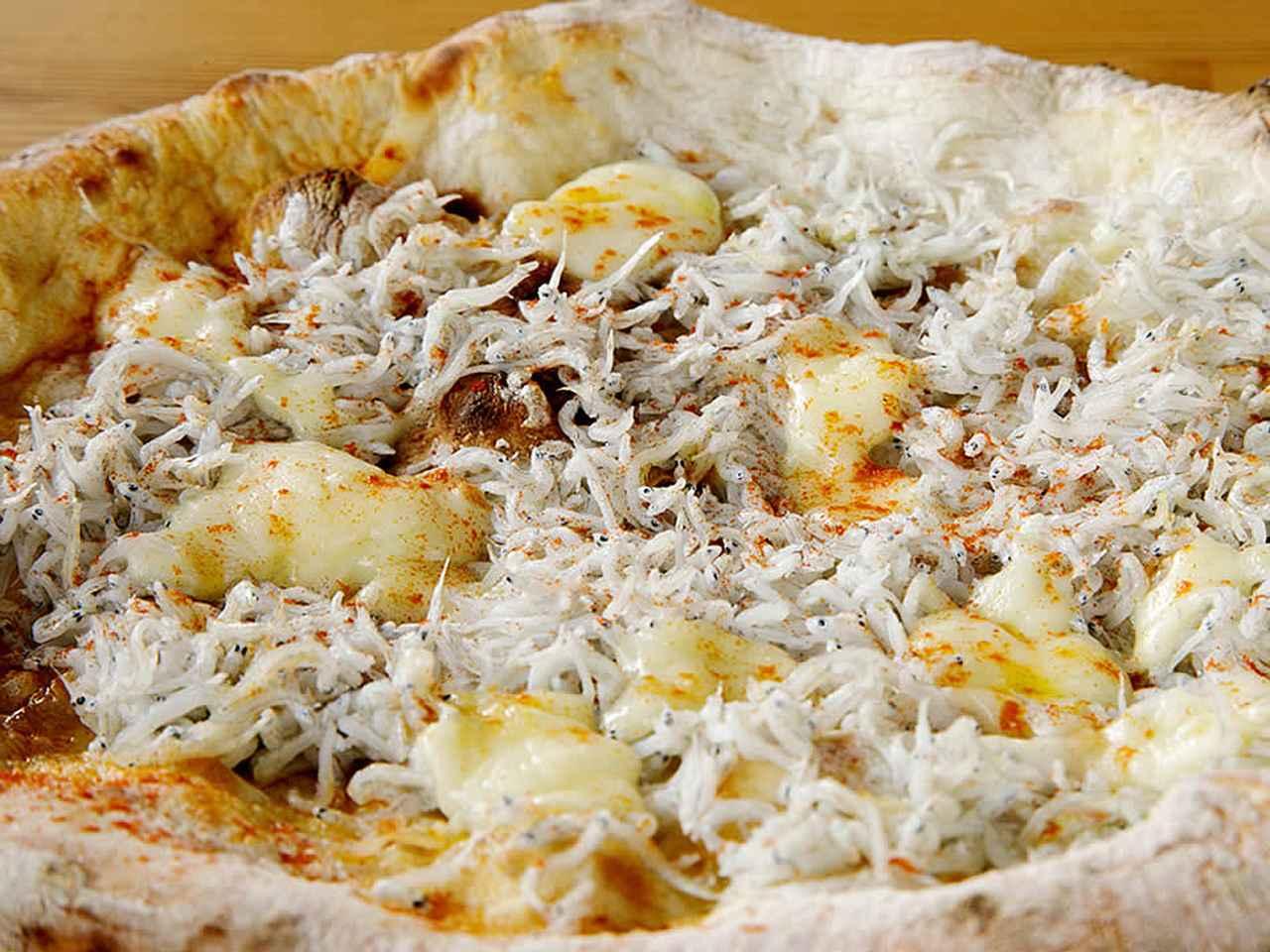 画像: 焼きたてが最高!「窯焼きピッツァとこ丸さんの釜揚げシラスとすだち」