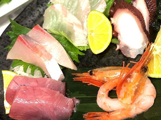 画像: 「阿波鮮魚お造り盛り合わせ~極~」は朝獲れの海の幸を凝縮した一皿