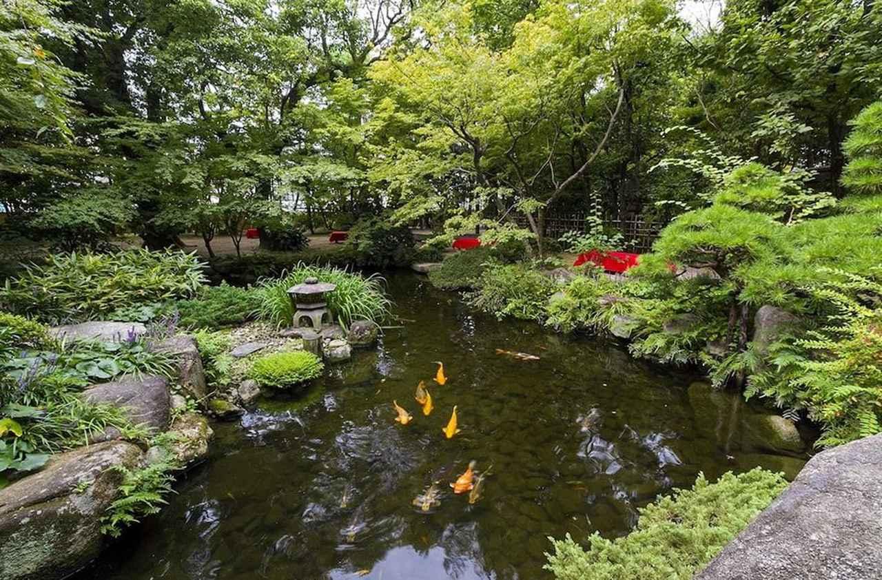 画像: 三菱地所アルティアム、福岡県立美術館、住吉神社、楽水園