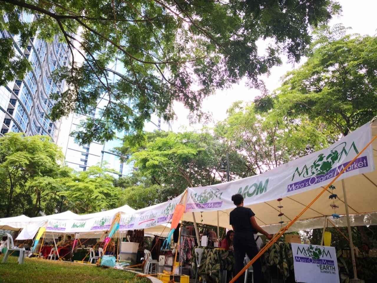 画像: Jesus Ovalで不定期開催されている『My Saturday Market』