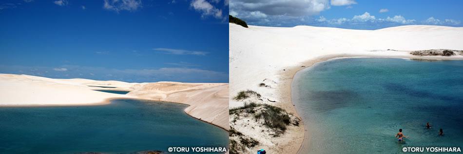 画像: 砂丘と水が織りなす絶景の地、「レンソイス」