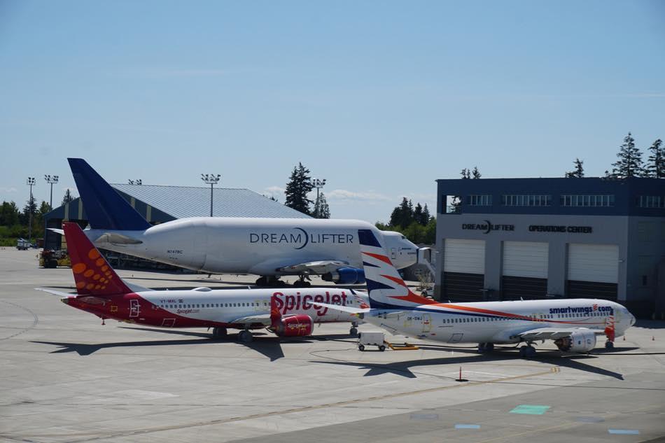 画像: 飛行機の部品を運ぶ専用機「ドリームリフター」は名古屋とエベレット工場も結ぶ