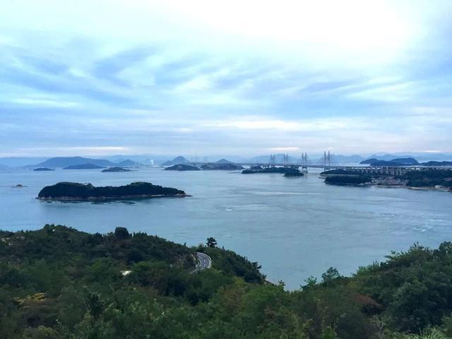画像: 鷲羽山から眺める瀬戸内海の景色