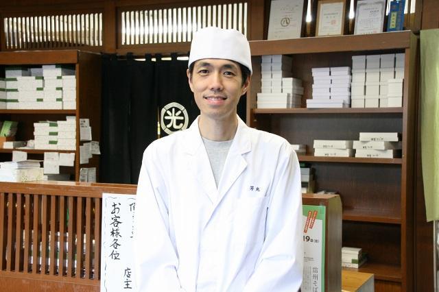 画像: 島岡樒雄さん曰く「暑い時期はわらび餅が柔らかくなりすぎるし、生菓子ゆえ日持ちしない」ため限定発売だそう。