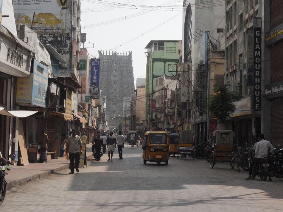 画像: マドゥライの街の様子