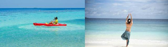 画像: 多彩なアクティビティで楽園の魅力に浸る