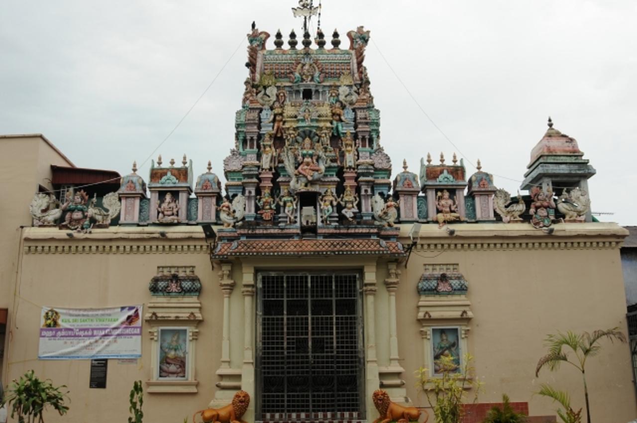 画像: Sri Mahamariamman Temple(スリ マハ マリアマン寺院)