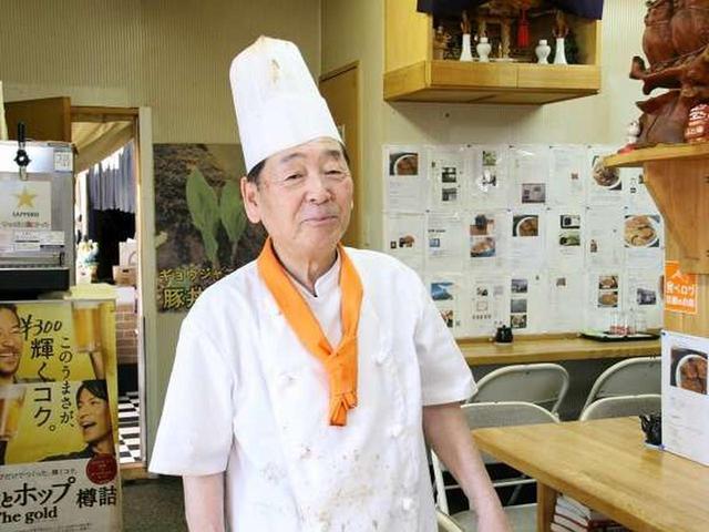 画像: ご主人の菅野武雄さんは、帯広の出身。約40年前から当地で下宿を営んでおり、食べ盛りの子供たちのために豚丼屋さんを始めたそうです。
