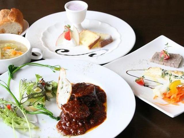 画像: ランチは「シェフおすすめミニコース風ランチ」が特にオススメで、メインに魚か肉が選べます。