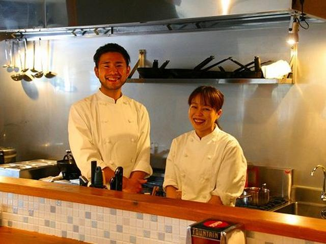 画像: オーナーシェフの竹澤良太さんとパートナーの北村圭子さんは、神戸の出身。ふたりが、2014年5月に宮古島で洋食店を構えました。