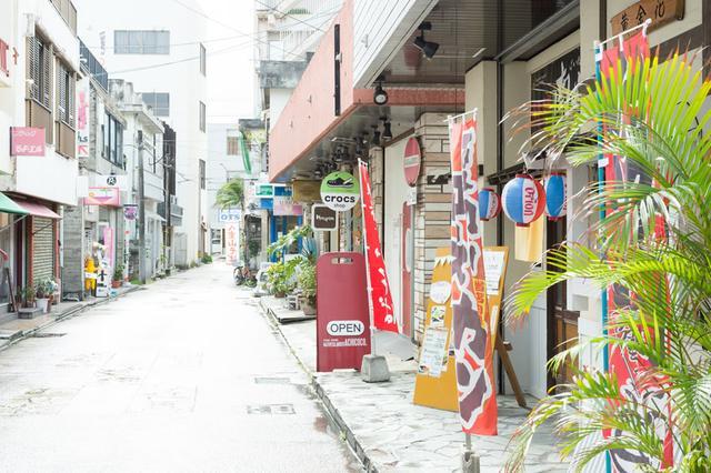 画像: 石垣島の市街地