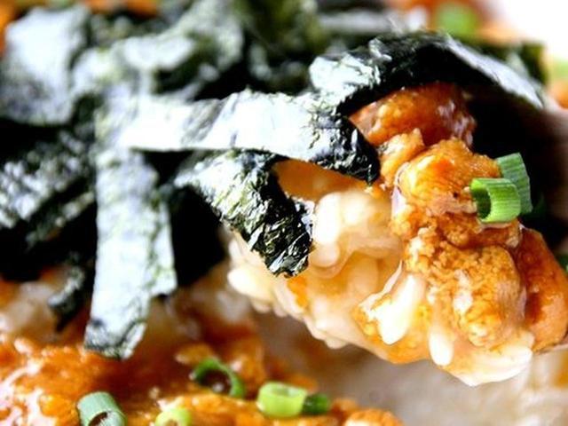 画像: ウニの風味が前面にダイレクトに表れていて、ヤミツキの美味しさ。海苔の風味も良いアクセントになっています。