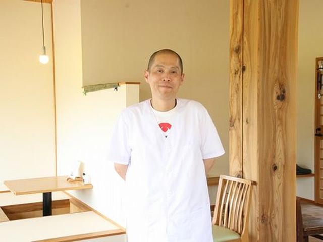 画像: ご主人の笘居靖史さんは、愛媛の出身。山梨などで合計10年、修業を積んで、独立。現在は、笘居さんと奥様、スタッフで切り盛り。